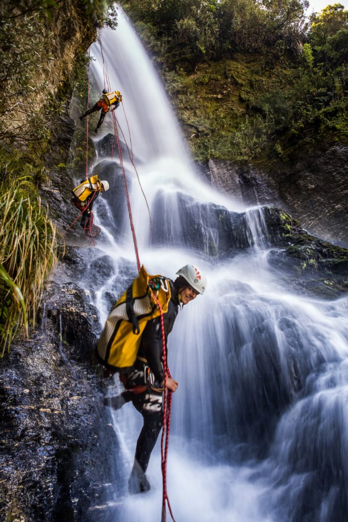 Canyoning-guide-in-Wanaka-New-Zealand
