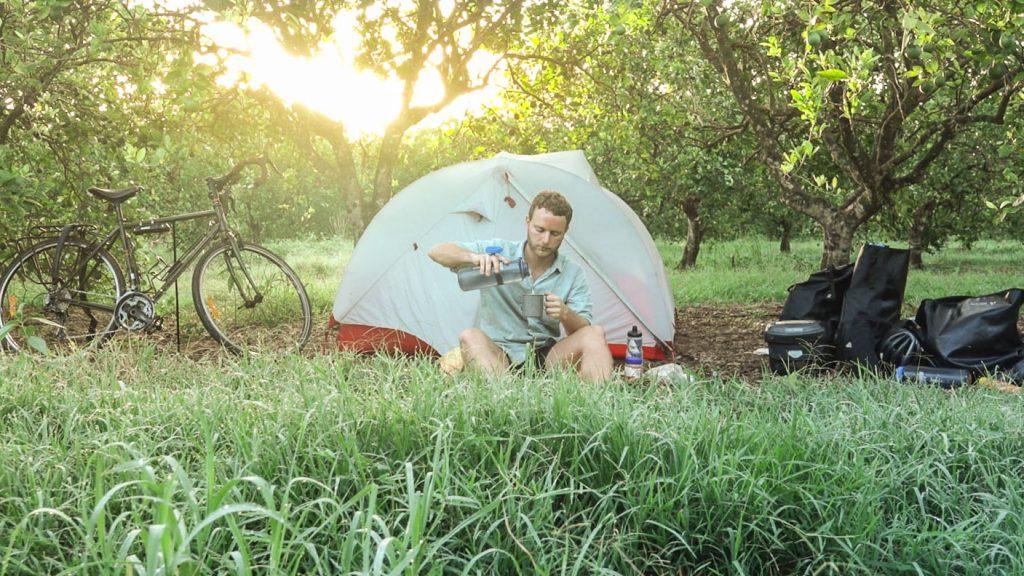 Camping in Cuba