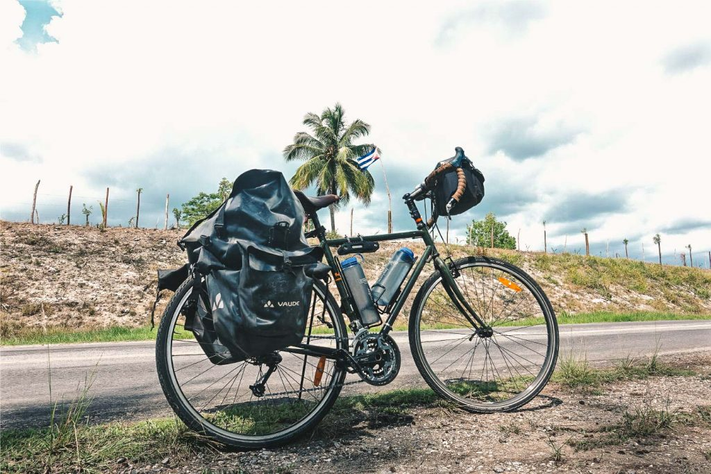 Light packed to cycle through Cuba