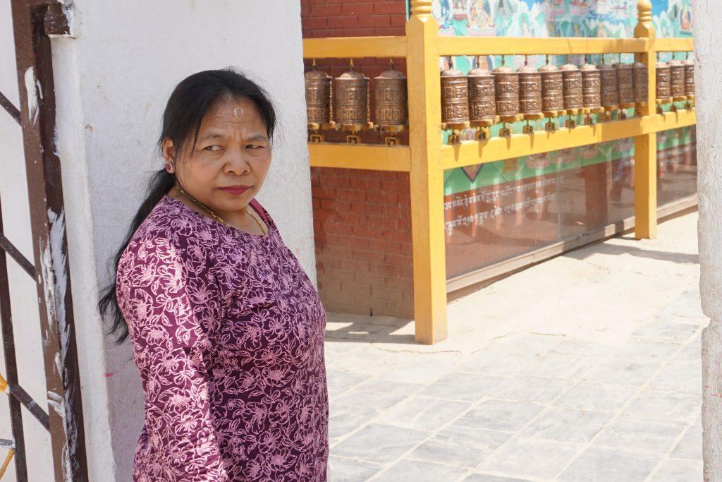 Local Lady in Kathmandu