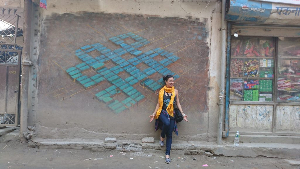 The Endless Knot in Kathmandu