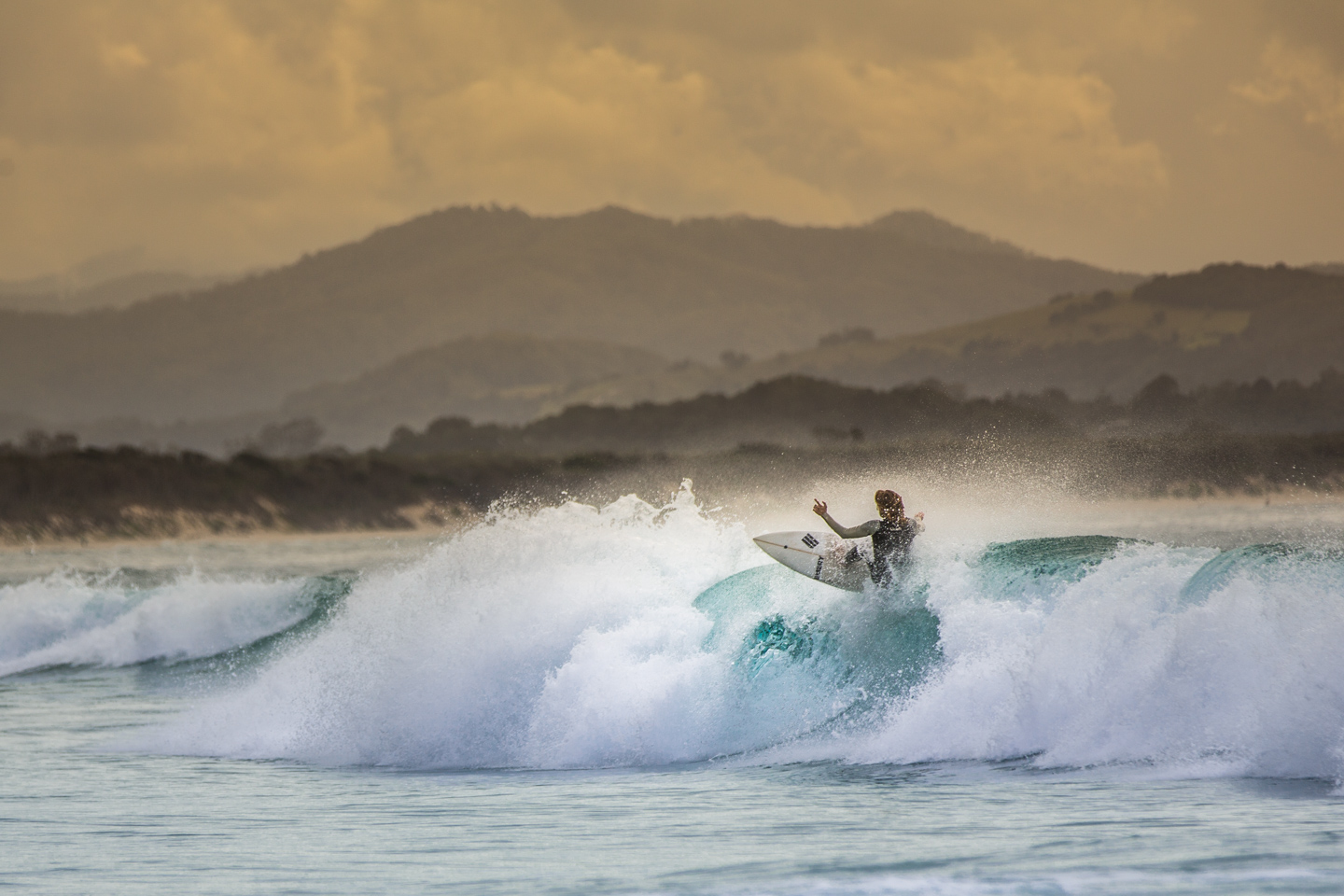 Surf in Byron Bay, Australia