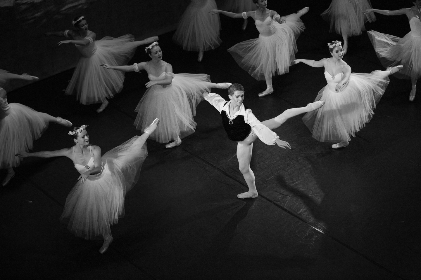 I was a photographer for the Byron Ballet.